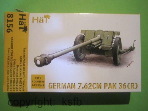 Bedienung im Mantel r 1:72 HäT 8156 WKII Deutschland PAK 36 7,62cm Kanone
