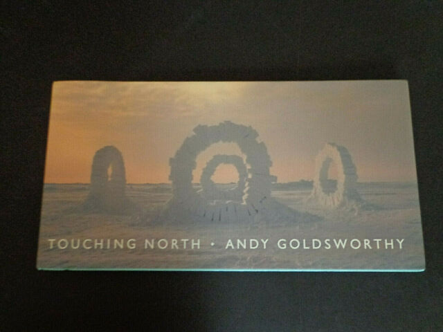 Touching North,Andy Goldsworthy snow sculptures,photos Carlsson/Murray'89 BP 004