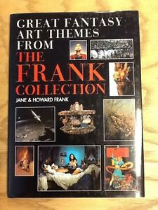 Details About Great Fantasy Art Themes From The Frank Collection 2003 Hb W Dj Vg