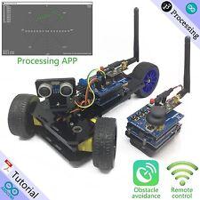 Freenove Three-wheeled Smart Car Kit for Arduino Enhanced Wireless Ultrasonic RC