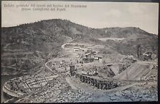 1910 - Castiglione dei Piepoli - Bacino del Brasimone - Vedute generale lavori