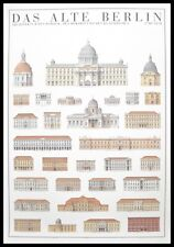 Das Alte Berlin Poster Kunstdruck Bild im Alu Rahmen 100x70 cm Portofrei