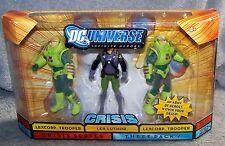 DC UNIVERSE CRISIS 2008 LEXCORP TROOPERS /& LEX LUTHOR SET