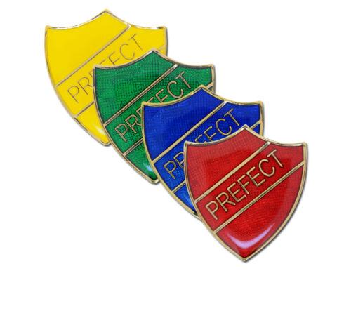 Prefect Shield Enamel School Badges