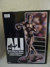 """Neca 12"""" Mohammed Ali LE 500 Cassius Clay vs Liston Bronze Finish Statue BN"""