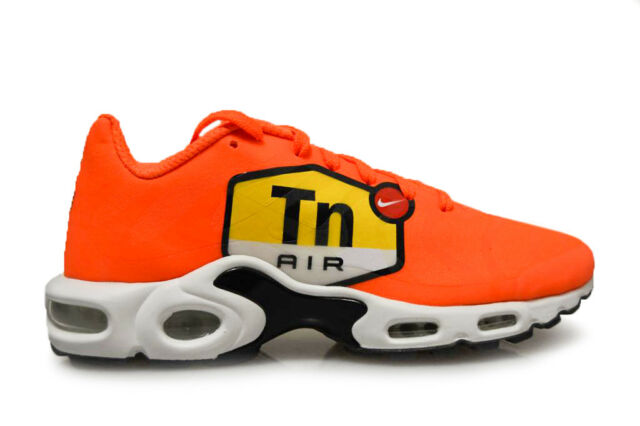 Nike Air Max Plus NS GPX Tuned 1 Big Logo (sz 8) Orange Black White ... db7d24d7c