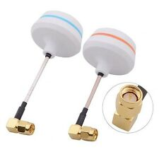 5.8G Clover 3 & 4 Leaf Gain Antenna SMA L Style TX + RX for Audio Video FPV