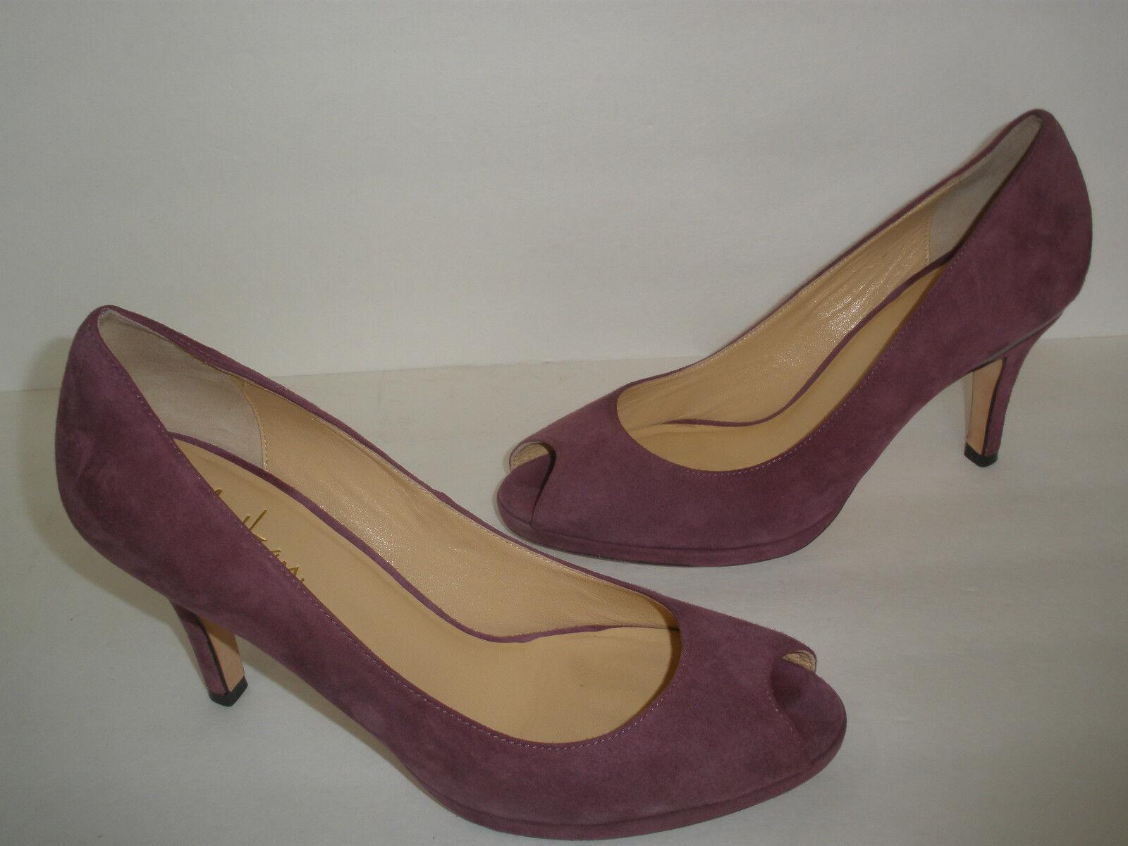 migliore offerta  274 COLE HAAN  CARMA  NIKE NIKE NIKE AIR LEATHER PUMPS scarpe viola US 8.5  pep toe nice  per il commercio all'ingrosso