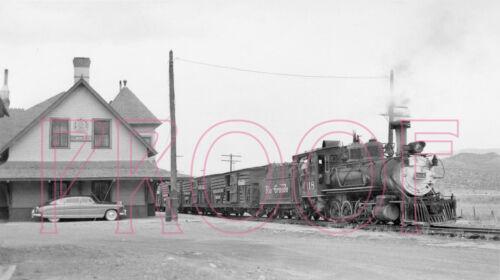 8x10 Photo Engine 318 at Ridgway D/&RGW Denver /& Rio Grande Western