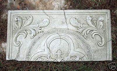 "Tuscan tile plastic mold concrete  plaster mould 11/"" x 11/"" x 3//4/"" thick"