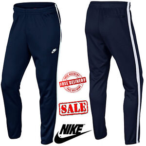 088d3a8cc9c7 Nike Men s Skinny Tribute Track Bottoms Sports Sweat Pants Navy ...