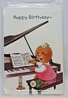 Suzy's Zoo Visits Current Happy Birthday In Every Key Pkg 4 Same Cards Envs 1987