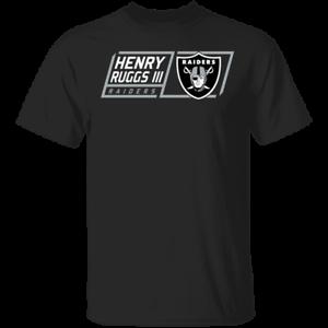 Henry Ruggs III Las Vegas Raiders T-Shirt Men/'s Tee Shirt Short Sleeve S-5XL