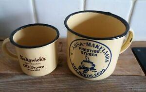 Two South African Tin Cups TqGeYn0n-09163250-391268130