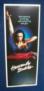 HEAVENLY-BODIES-1985-CYNTHIA-DALE-14X36-ORIGINAL-ROLLED-MOVIE-POSTER-INSERT