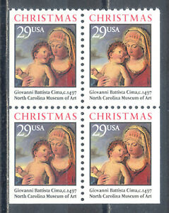 US-Stamp-L1361-Scott-2790a-Mint-NH-OG-Nice-Booklet-Pane-Christmas