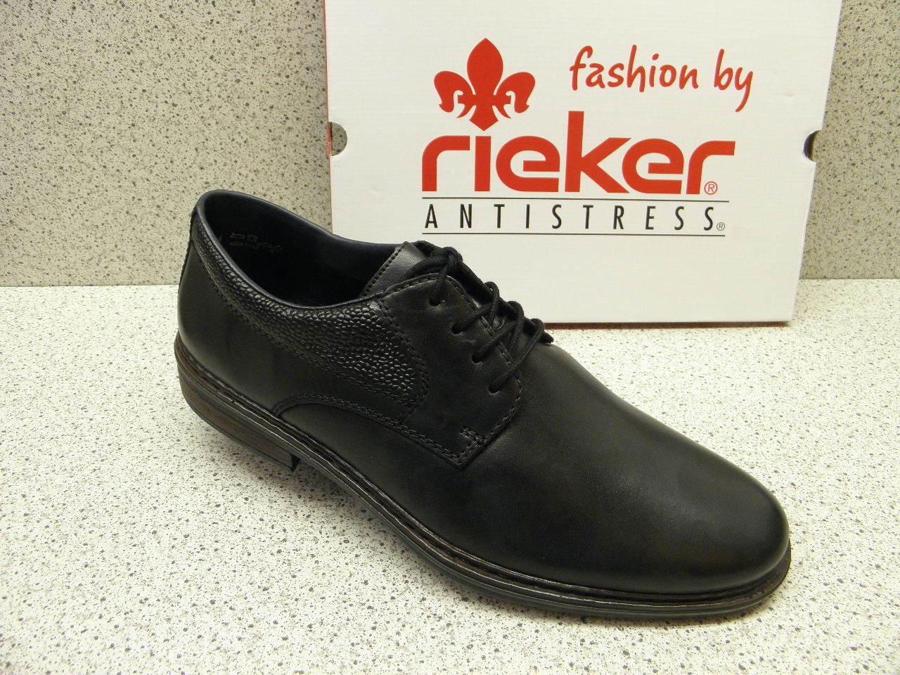 Rieker ® reduce top precio negro lejos + gratis premium-calcetines (r134)