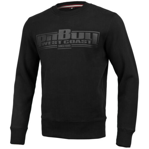 schwarz One Tone Boxing Pit Bull West Coast Pullover