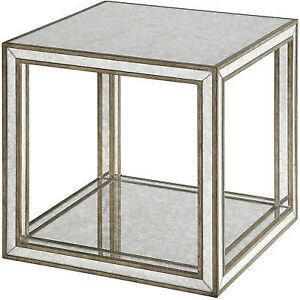 Fine Uttermost Julie Mirrored Accent Table 24789 Uwap Interior Chair Design Uwaporg