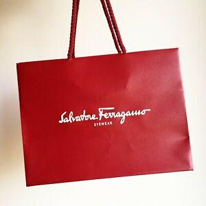 Busta Occhiali Da Sole Salvatore Ferragamo Eyewear Sunglasses Case Shopping Bag