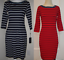 SALE-NWT-Tommy-Hilfiger-Women-039-s-3-4-Sleeve-Boat-Neck-Dress-SIZE-COLOR-VARIETY thumbnail 6