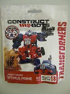 Transformers construct-bots dinobot riders optimus prime new in blister