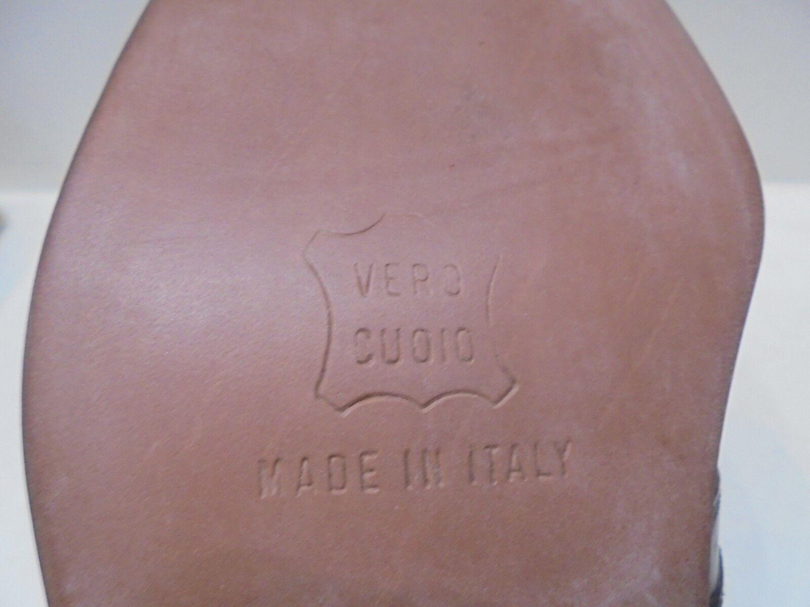 schuhe schuhe schuhe herren Artigianali Made  con lacci pelle braune Morbidissime - 40-44 adcc70