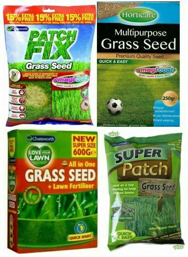 Grass Seeds Patch Fix Super Patch Love your Lawn Magicoat Gardening Thicken Lawn