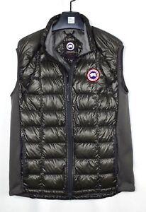 Canada-Goose-Men-039-s-Hybridge-Lite-Vest-2702M-Black-Size-XL-Extra-Large-Black