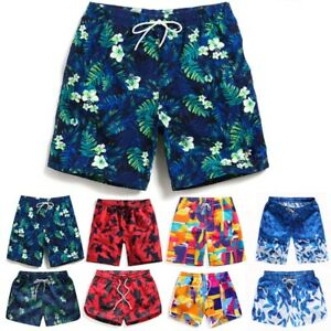 Bademode Liberal Mens Plain Beach Swim Shorts Poly Lined Swimming Cargo Summer Adults Beachwear