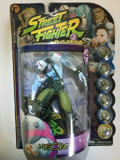Street Fighter Round 2 Necro Action Figure by Capcom