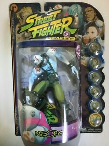Figurine d'action Street Fighter Round 2 Necro de Capcom