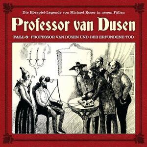 08-PROFESSOR-VAN-DUSEN-UND-DER-ERFUNDENE-TOD-PROFESSOR-VAN-DUSEN-CD-NEW