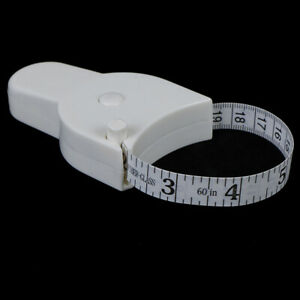 Body Tape Measure for measuring Waist Diet Weight Loss Fitness HealthJ Gj