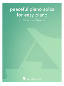 PEACEFUL-PIANO-SOLOS-FOR-EASY-PIANO-MUSIC-BOOK-BRAND-NEW-ON-SALE-SONGBOOK-RELAX
