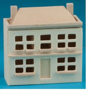 Unfinished #CLA08680 Dollhouse Miniatures 1:12 Scale Doll/'s Doll House