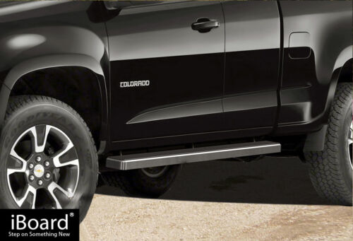 """4/"""" iBoard Side Step Nerf Bar Fit 15-19 Chevy Colorado GMC Canyon Extended Cab"""