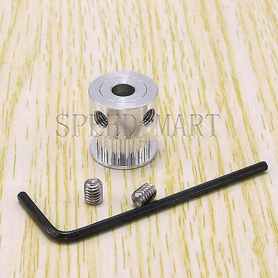 GT2 Timing Pulley Gear 16T 5mm Bore Hole for NEMA RepRap Prusa Mendel 3D Printer