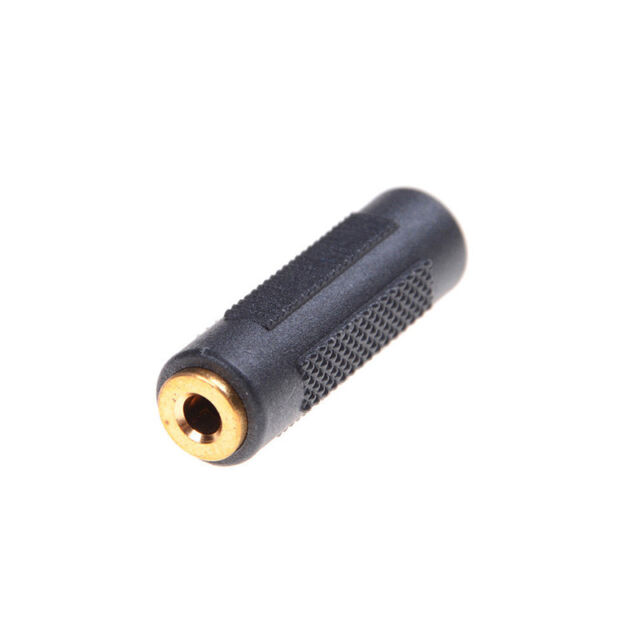 Stereo 3.5mm Aux Female to Female 1/8