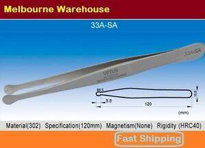 VETUS-Original-Genuine-High-Quality-Stainless-Steel-Switzerland-Tweezers-33A-SA