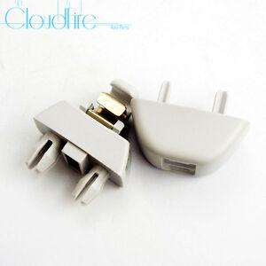 Gris Clip Pare-Soleil Support Fixation Crochet Pour Audi A6 C6 A8 2004-2011