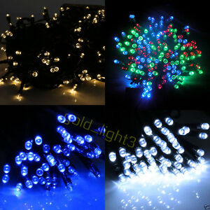 300-LED-30M-Solar-Powered-Fairy-String-Lights-Garden-Party-Decor-XMAS-Outdoor