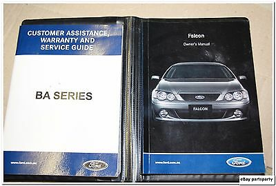 owners manual collection on ebay rh ebay com au 2006 Ford Falcon 2003 Ford Falcon
