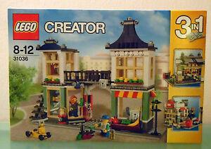 Jeu de jouets et d'épicerie Lego Creator 3 en 1 - 31036