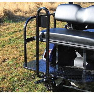 Rear Seat Trailer Hitch Receiver With Safety Bar Club Car