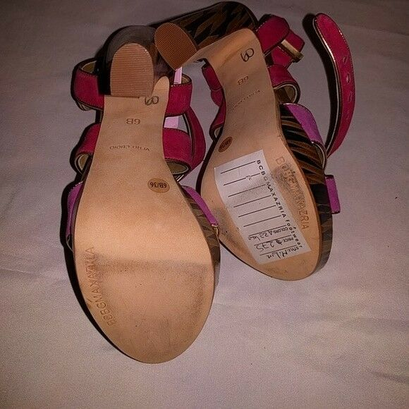 BCBGMAXAZRIA Womens Womens Womens Pink Purple MA-Milan Platform Pump shoes US 6.5 3e0aad