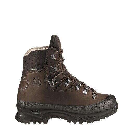 Hanwag Alaska Lady GTX Damen Trekkingstiefel Damen braun Outdoor Schuhe