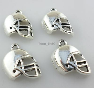 Jewelry Findings,Charms,Pendants,, 20pcs Tibetan Silver Football