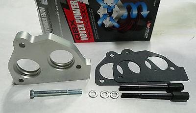 OBX Throttle Body Spacer Fits CHEVROLET S10 BLAZER /& PICKUP 88-93  V6 4.3L Chevy