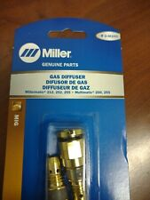 Miller Electric D M250 Gas Diffuser Mdx 212 252 255 200 Welding Acculock 2 Pack